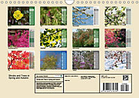 Shrubs and Trees in Spring and Autumn (Wall Calendar 2019 DIN A4 Landscape) - Produktdetailbild 13