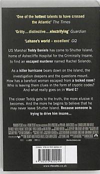 Shutter Island, English edition (Film Tie-In) - Produktdetailbild 1