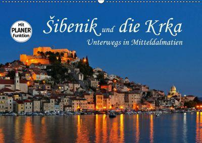 Sibenik und die Krka - Unterwegs in Mitteldalmatien (Wandkalender 2019 DIN A2 quer), LianeM