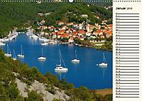 Sibenik und die Krka - Unterwegs in Mitteldalmatien (Wandkalender 2019 DIN A2 quer) - Produktdetailbild 1