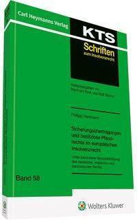 Sicherungsübertragungen und besitzlose Pfandrechte im europäischen Insolvenzrecht - Philipp Hartmann pdf epub
