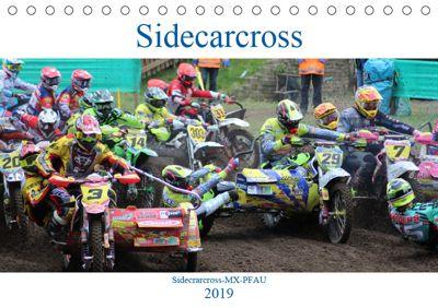 Sidecarcross (Tischkalender 2019 DIN A5 quer), MX-Pfau