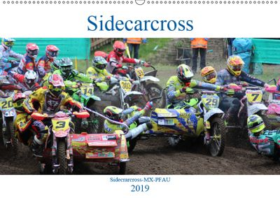 Sidecarcross (Wandkalender 2019 DIN A2 quer), MX-Pfau