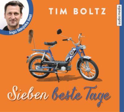 Sieben beste Tage, 4 Audio-CDs, Tim Boltz