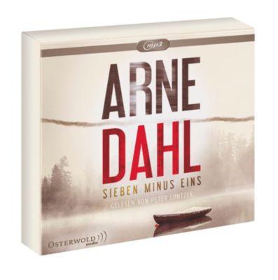Sieben minus eins, 2 MP3-CDs, Arne Dahl
