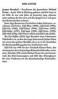 Siggi Baumeister Band 15: Eifel-Träume - Produktdetailbild 2