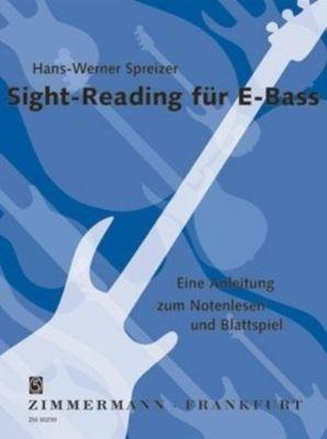 Sight-Reading für E-Bass, Hans-Werner Spreizer