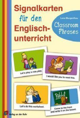 Signalkarten für den Englischunterricht - Classroom Phrases, Lena Morgenthau