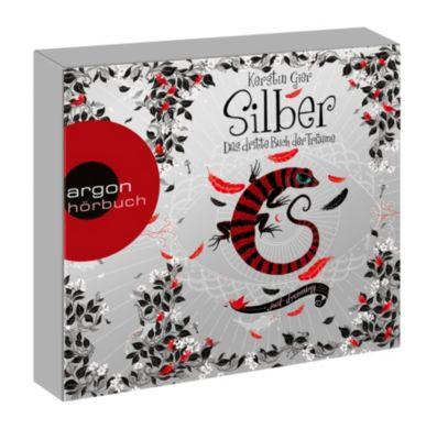 Silber Trilogie Band 3: Das dritte Buch der Träume (8 Audio-CDs), Kerstin Gier