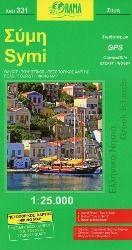 Simi / Symi 1 : 25 000