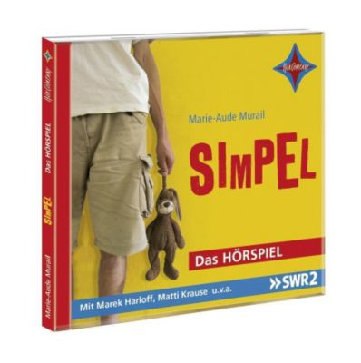 Simpel, 1 Audio-CD, Marie-Aude Murail