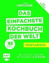 Simplissime - Das einfachste Kochbuch der Welt: Vegetarisch - Jean-François Mallet |