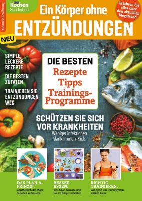 Simply Kochen Sonderheft - Ein Körper ohne Entzündungen - Oliver Buss |