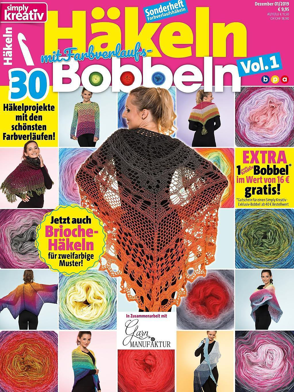 Simply Kreativ Häkeln Mit Farbverlaufs Bobbeln Buch Weltbildde