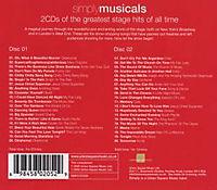 Simply Musicals (2cd) - Produktdetailbild 1