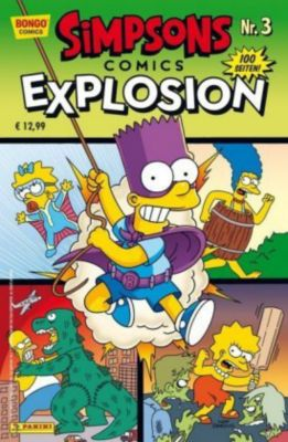 Simpsons Comics Explosion, Matt Groening
