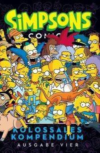 Simpsons Comics Kolossales Kompendium, Matt Groening, Nathan Kane