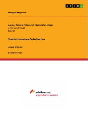 Simulation eines Orderbuches, Christian Maywurm