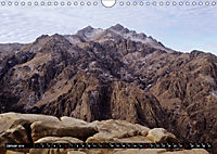 Sinai - Landschaft aus Fels und SandCH-Version (Wandkalender 2019 DIN A4 quer) - Produktdetailbild 1