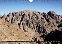 Sinai - Landschaft aus Fels und SandCH-Version (Wandkalender 2019 DIN A4 quer) - Produktdetailbild 8