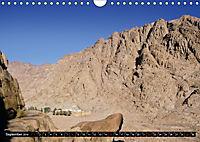 Sinai - Landschaft aus Fels und SandCH-Version (Wandkalender 2019 DIN A4 quer) - Produktdetailbild 9