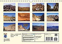 Sinai - Landschaft aus Fels und SandCH-Version (Wandkalender 2019 DIN A4 quer) - Produktdetailbild 13