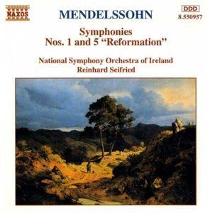 Sinf.1&5*Naxos, Reinhard Seifried, Nsoi