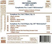 Sinf.1&5*Naxos - Produktdetailbild 1