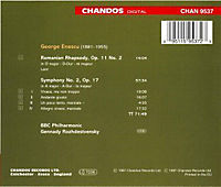 Sinf.2,Op.17/Roman.Rhapsody - Produktdetailbild 1