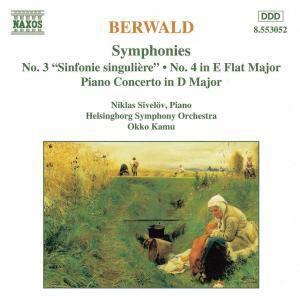 Sinf.3&4*Naxos, Sivelöv, Kamu