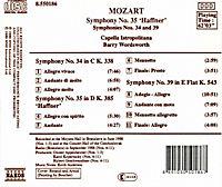 Sinf.34+35+39*Naxos - Produktdetailbild 1