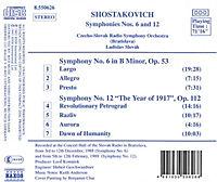 Sinf.6&12*Naxos - Produktdetailbild 1