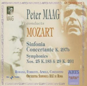 Sinfonia Concertante, RAI Di Roma So, Peter Maag