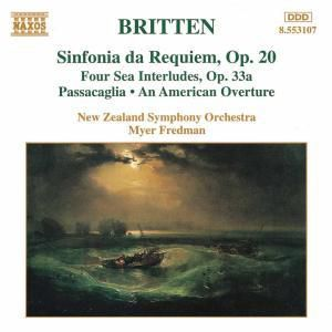 Sinfonia Da Requiem/+, Myer Fredman, Nzso