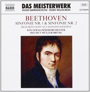 Sinfonie 1& 2, Helmut Müller-Brühl, Kölner Kammerorchester