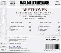 Sinfonie 1& 2 - Produktdetailbild 1