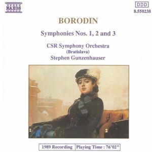Sinfonie 1-3, Gunzenhauser, Tschech.Slow.RSO