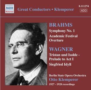 Sinfonie 1/Akad.Festouvertüre, Otto Klemperer, Bsoo