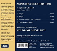 Sinfonie 1 C-Moll-Linzer Fassung 1865/66 - Produktdetailbild 1