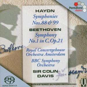 Sinfonie 1 & Sinfonien 88,99, Colin Davis, Cgo & Bbcso