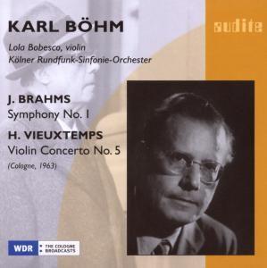 Sinfonie 1/Violinkonzert 5, Lola Bobesco, Karl Böhm, Krso