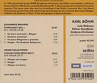Sinfonie 1/Violinkonzert 5 - Produktdetailbild 1