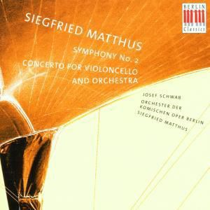 Sinfonie 2/cellokonzert, S. Matthus, Orch.D.Komischen Oper