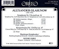 Sinfonie 2 Fis-Moll Op.16/Konzertwalzer Op.47 - Produktdetailbild 1