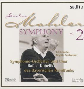 Sinfonie 2-Live Recording 08.10.1982 (Vinyl), Mathis, Fassbaender, Kubelik, Sobr