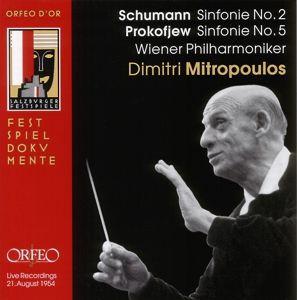 Sinfonie 2 Op.61/Sinfonie 5 Op.100, Mitropoulos, Wp
