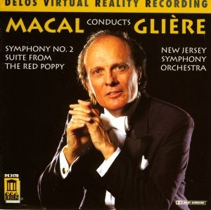 Sinfonie 2/Red Poppy Suite, Zdenek Macal, New Jersey Symphony Orchestra