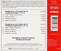 Sinfonie 3+4 - Produktdetailbild 1