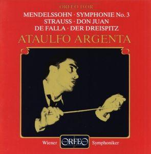 Sinfonie 3 A-Moll Op.56/Don Juan/Der Dreispitz, Argenta, Wsy