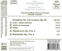 Sinfonie 3/Melodie In E/+ - Produktdetailbild 1